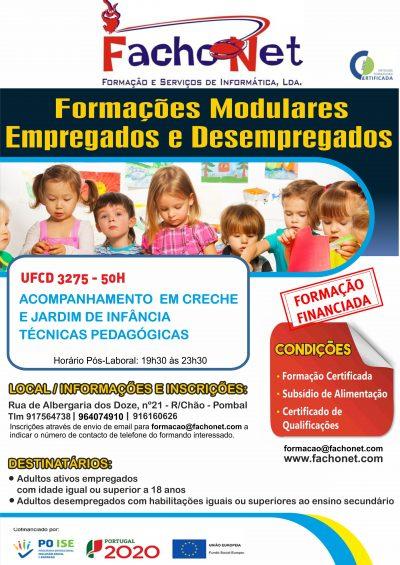 Cartaz 3275 - Acompanhamento em creche e jardim de infancia